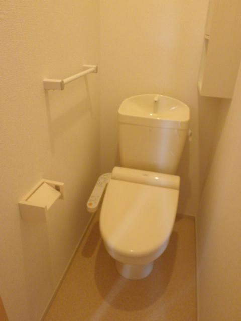 ロ-ズハウス OZ Ⅲ 01030号室のトイレ