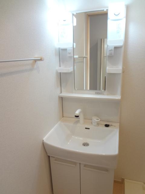 カトレア ハウスⅡ 01040号室の洗面所