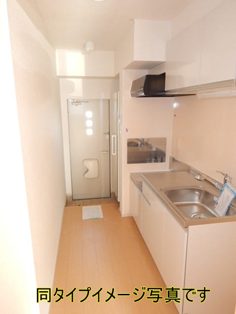 キューズ エリシオンA 01030号室のキッチン