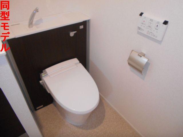 オール プロパティ 02020号室のトイレ