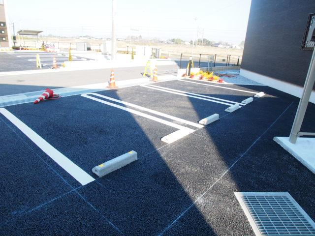 プロムナード宮代台Ⅵの駐車場