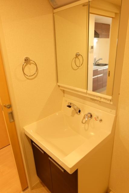 エクセレント クローバー 03040号室の洗面所
