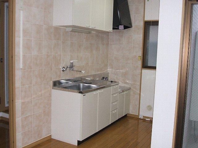 欅壱番館 103号室のキッチン