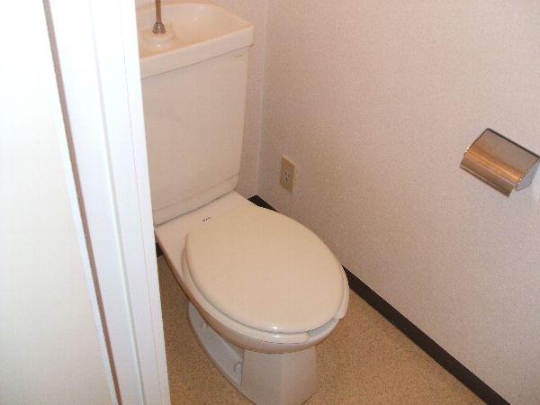 ゾンネ等々力 502号室のトイレ