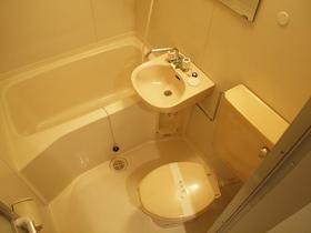 ジョイハウス深沢 105号室のトイレ