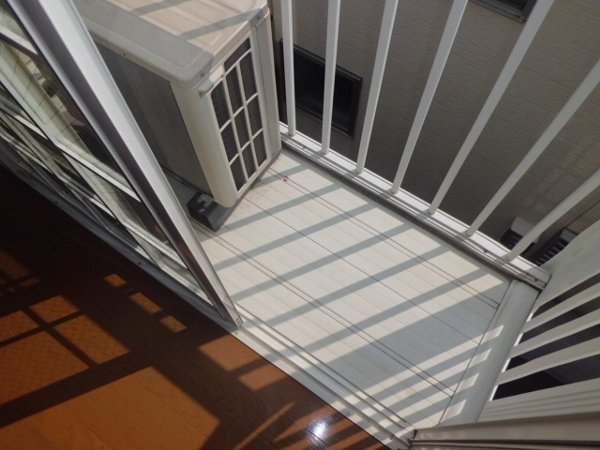 リレイション杉田Ⅱ 202号室のバルコニー