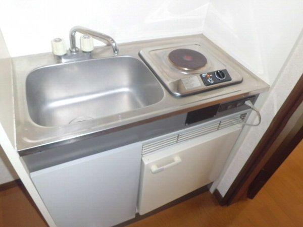 リレイション杉田Ⅱ 202号室のキッチン