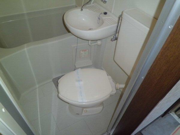 リレイション杉田Ⅱ 202号室のトイレ