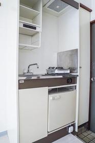 アーバンリゾート若林Paet6 614号室のキッチン