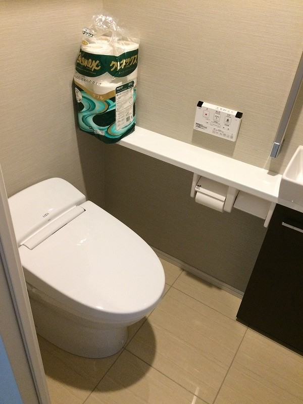 シティタワー武蔵小杉 5210号室のトイレ