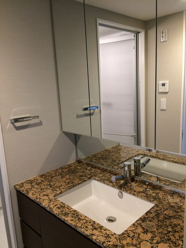 シティタワー武蔵小杉 5210号室の洗面所