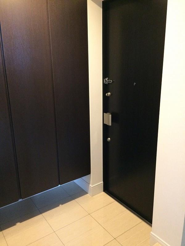 シティタワー武蔵小杉 5210号室の玄関