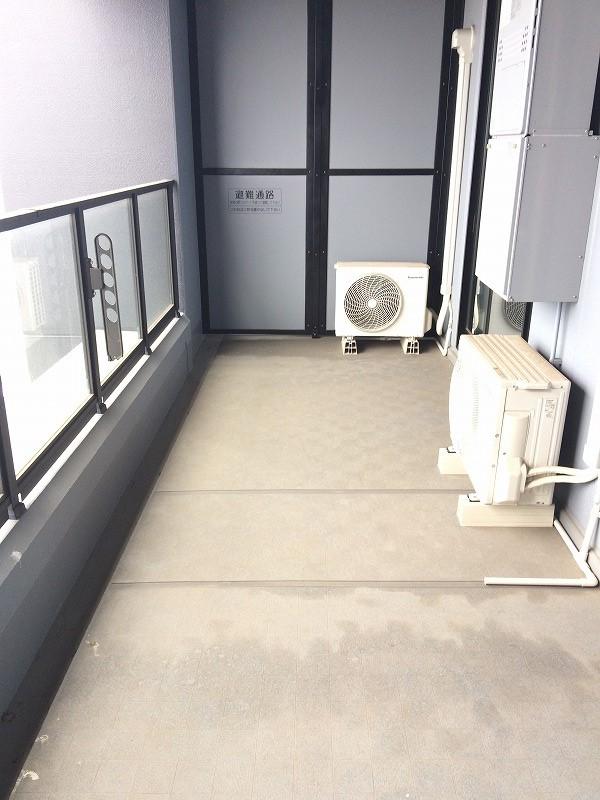 シティタワー武蔵小杉 5210号室のバルコニー