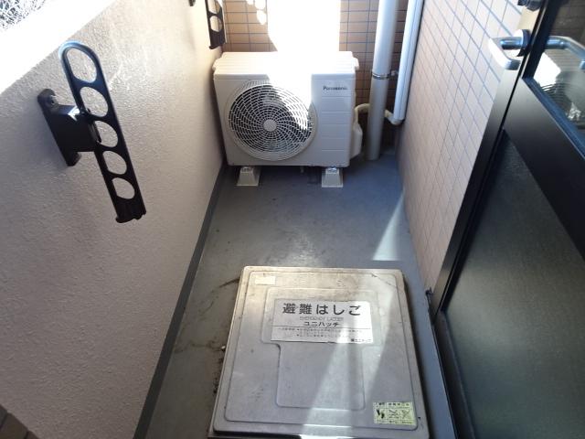 メゾンドール 303号室のバルコニー