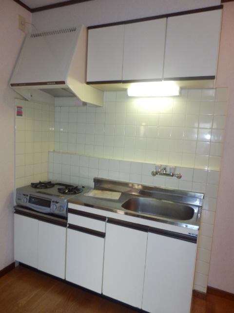 ストークハイツ五本木 202号室のキッチン