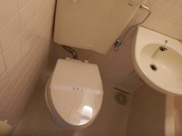 シティコア上野毛 301号室のトイレ