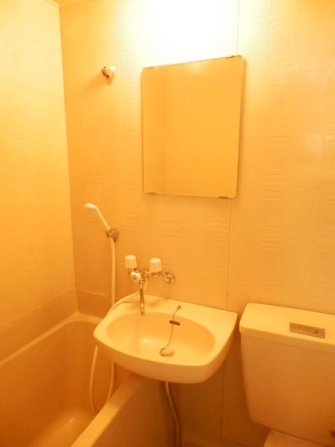 プランドール上戸祭 303号室の洗面所