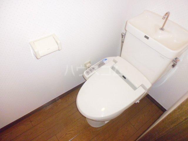 サンリバー川越2 107号室のトイレ