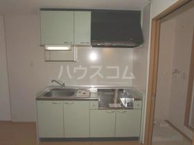 ソレイユ・メゾンB 101号室のキッチン