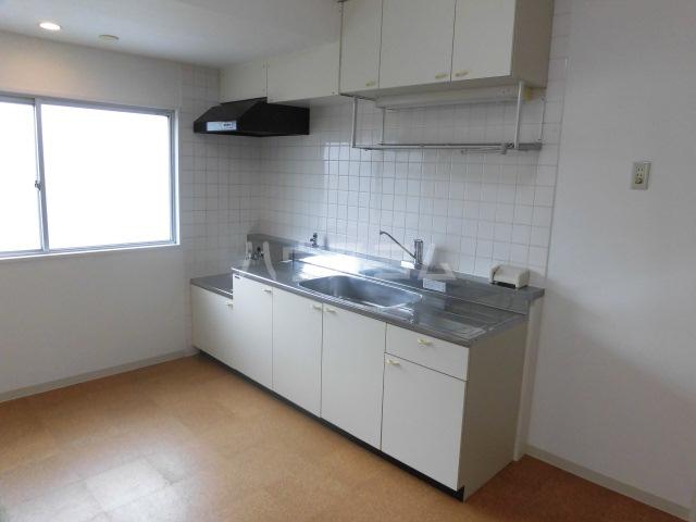 岸町コーポ 503号室のキッチン
