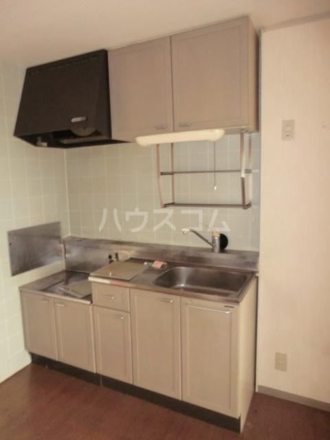 ヴァンベール中井川 301号室のキッチン