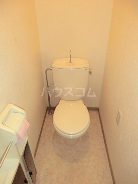 ヴァンベール中井川 301号室のトイレ