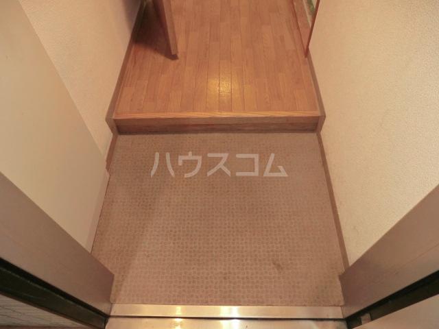 新田第9ビル 202号室の玄関