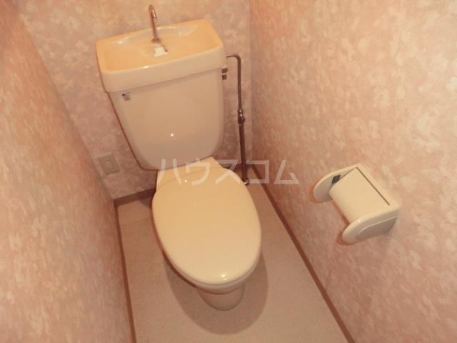 新田第9ビル 202号室のトイレ