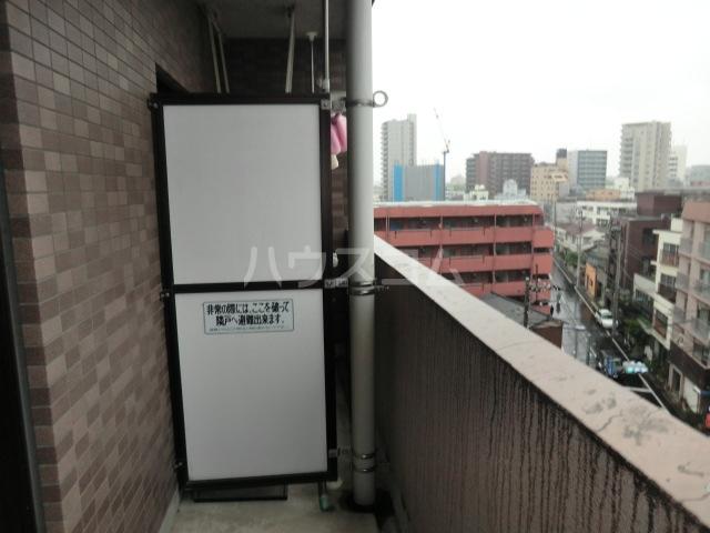新田第9ビル 202号室のバルコニー