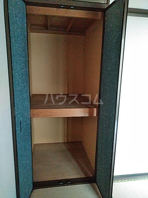 キャピタルD 203号室の収納