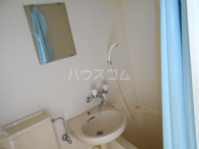 サマックスTH 201号室の洗面所