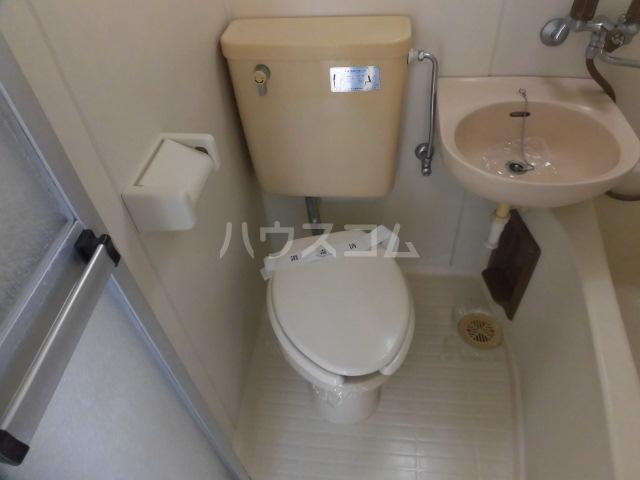 サンハイツ 201号室のトイレ