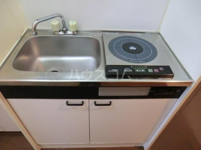 ロイヤルハイツ常盤 301号室のキッチン