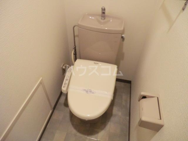 ロイヤルハイツ常盤 301号室のトイレ