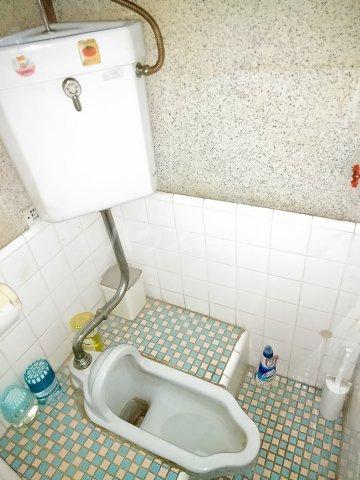 添田荘アパート 10号室のトイレ