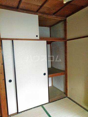 添田荘アパート 10号室の収納
