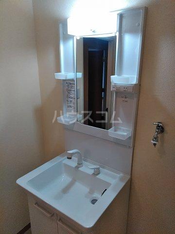 アルシュセマ 306号室の洗面所