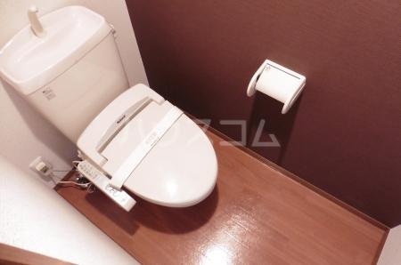 ベルデュール壱番館 201号室のトイレ