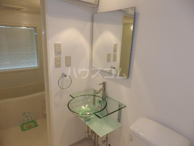 リブシス浦和 503号室の洗面所