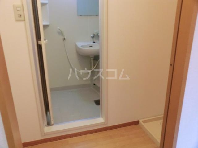 OAK HOUSE 105号室の洗面所