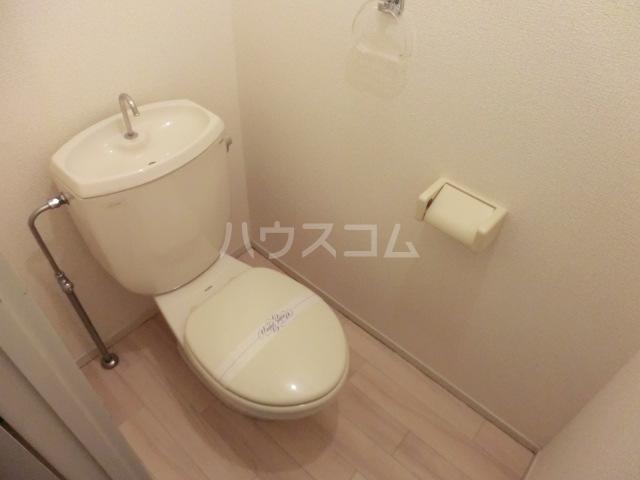 グリーンヒルA号棟 101号室のトイレ
