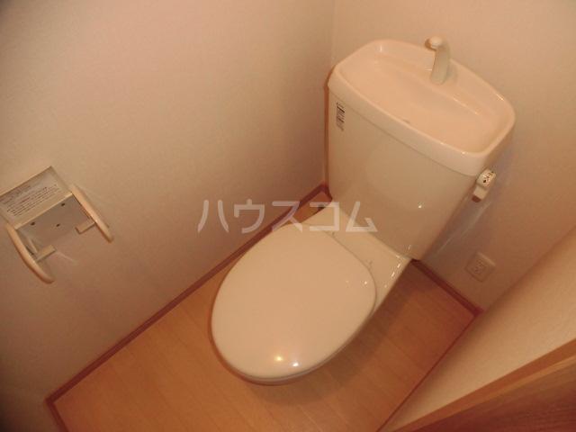 セントメゾン 202号室のトイレ