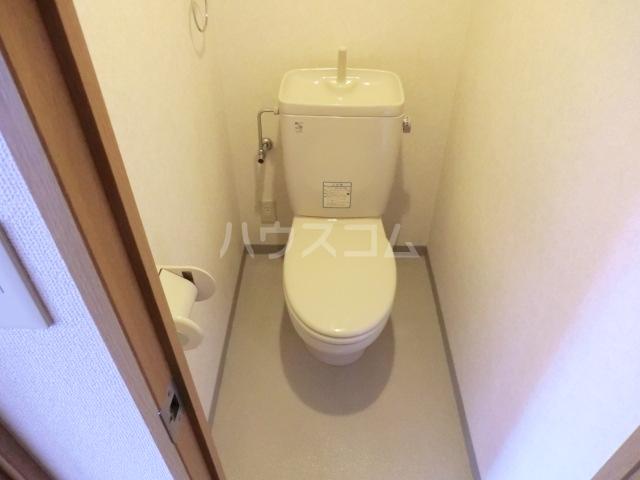 ミレニアム北浦和 B棟 207号室のトイレ