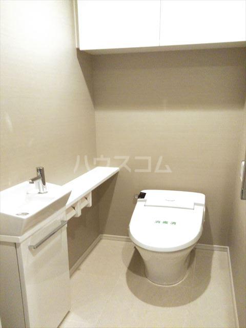シティハウス浦和高砂 503号室のトイレ