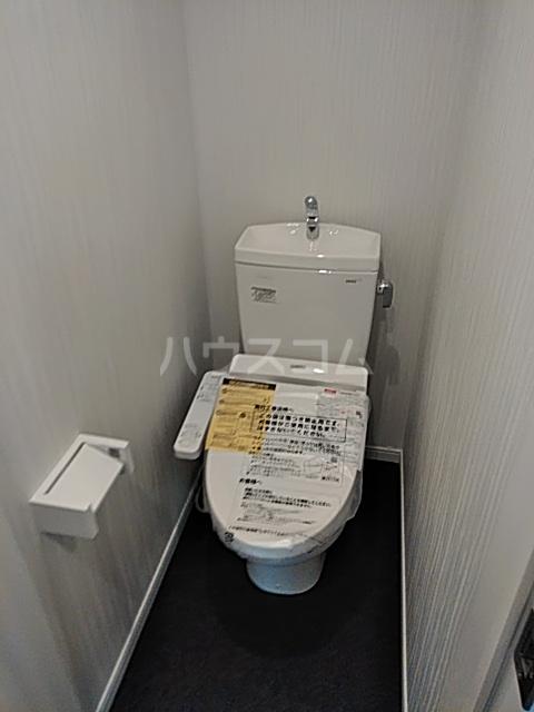 Auguri与野 3A号室のトイレ