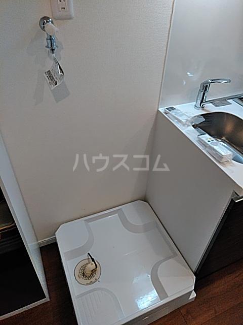 Auguri与野 3A号室の洗面所