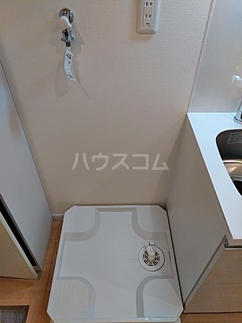 Auguri与野 A2号室の洗面所