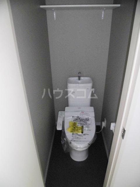 Leap 103号室のトイレ