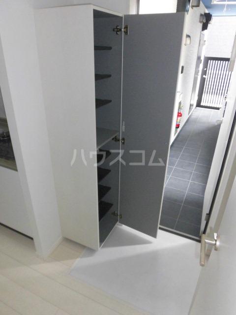 Leap 103号室の玄関