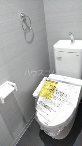 MARCH与野 203号室のトイレ